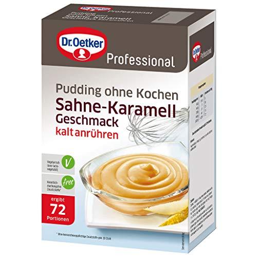 Dr. Oetker Professional Pudding ohne Kochen Sahne-Karamell-Geschmack, 1000 g