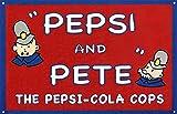 Hunnry Pepsi & Pete Poster Metall Blechschilder Retro
