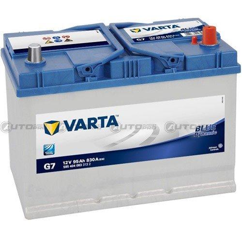 BATERÍA VARTA BLUE DYNAMIC G7 95 ah 830 ah