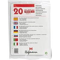 HOFMANN Paquete 20hojas eslipin 10x15