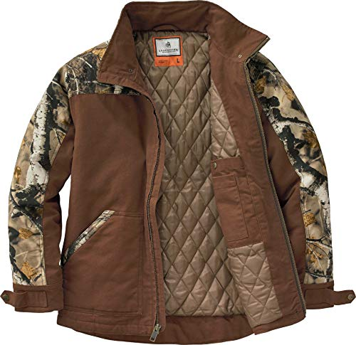 Legendary Whitetails Men's Canvas Cross Trail Workwear Jacket, Chocolate,...