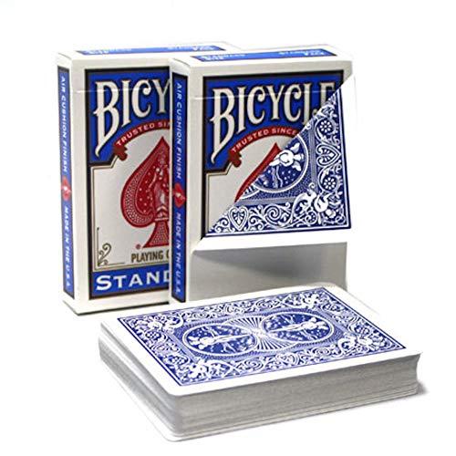 Merz67 LLC Bicycle Magic Gaff Playing Card Deck (Blank Face Blue Back)