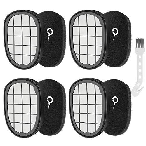 K KUMEED 4 Stück Filter Zubehör für Philips SpeedPro Max Akkusauger: FC6812, FC6813, FC6822, FC6823, FC6826, FC6723/01, FC6901, FC6902, FC6903, FC6904, XC7042/01, XC8045/01, XC8147/01
