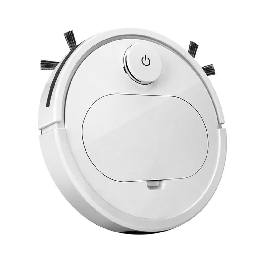 TAOXUE Robot Aspirador 2 En 1, Aspira Y Friega, con Sensores Anticaída, Bateria Ion-Litio De 120 Minutos De Autonomía, Especial para Pisos Duros Y La Limpieza De Pelos De Mascotas: Amazon.es: Jardín