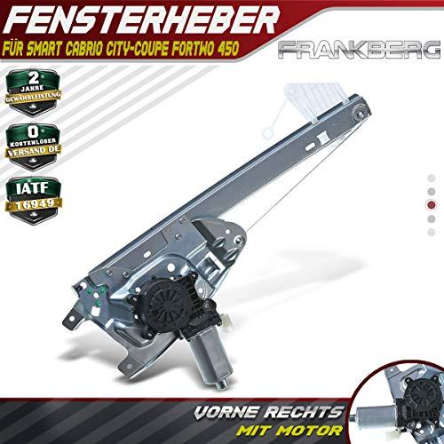 Frankberg Fensterheber Elektrisch Mit Motor Vorne Rechts für Fortwo City Cabrio 450 1998-2007 C0002702V001