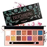 FOCALLURE Eyeshadow Palette, High Pigment Long Lasting Eyeshadow Makeup Palette -14 Colors Eye Shadow Palette Matte Nude Netrual Eye Shadow Pallette, Cruelty Free (49E (14 colors))