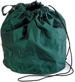 Emerald Green Jewel Small GoKnit Pouch Project Bag w/ Loop & Drawstring