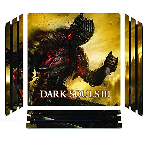 Dark Souls III 3 DS3 Game Skin for Sony Playstation 4 Pro - PS4 Pro Console