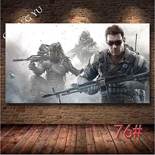 xiangpiaopiao Call of Duty: Black Ops Cold War Game Poster Anime Lienzo Pintura Decoración del Hogar Arte De La Pared Posters E Impresiones 50X70Cm -Pd1398