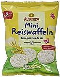 Alnatura Bio Reiswaffeln, Mini, glutenfrei, 10er Pack (10 x 40 g) -