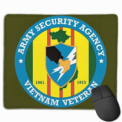 Not Applicable Mouse Pads,Alfombrilla De Ratón,Mouse Pad,Mousepad,Agencia De Seguridad del Ejército Veterano De Vietnam Alfombrilla Ratones Alfombrilla para Oficina Inicio Ordenador Portátil Pc