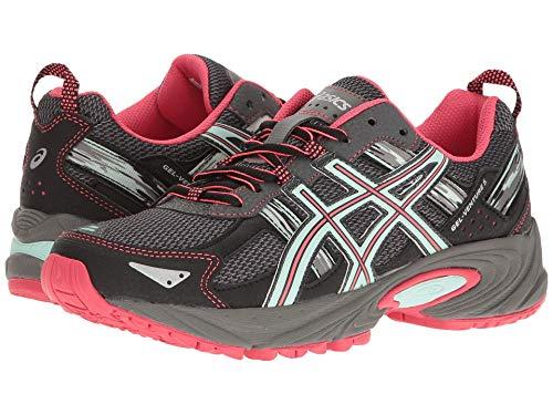 ASICS Women s Gel-Venture 5 Trail Runner  Carbon/Diva Pink/Bay  10 M US