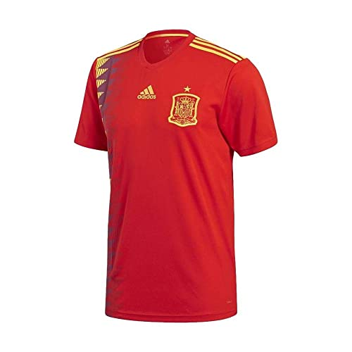 b3f79fafcf5 adidas Mens 2018 Spain Home Jersey