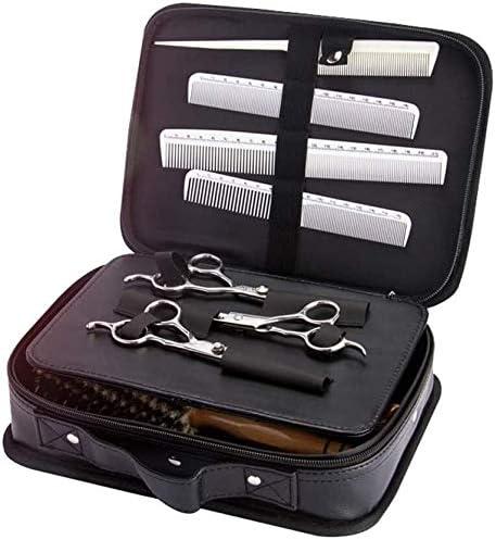 ZT Black Professional Barber Koffer Zipper Draagbare MultiFunction Tool Barber Storage Box