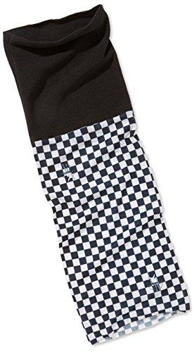 Lässig Twister Multifunktionstuch Kids, Fleece Chess black-white