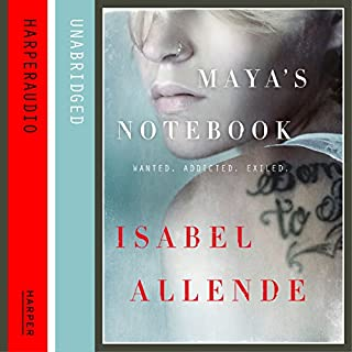 Maya's Notebook                   By:                                                                                                                                 Isabel Allende                               Narrated by:                                                                                                                                 Maria Cabezas                      Length: 14 hrs and 35 mins     39 ratings     Overall 4.1