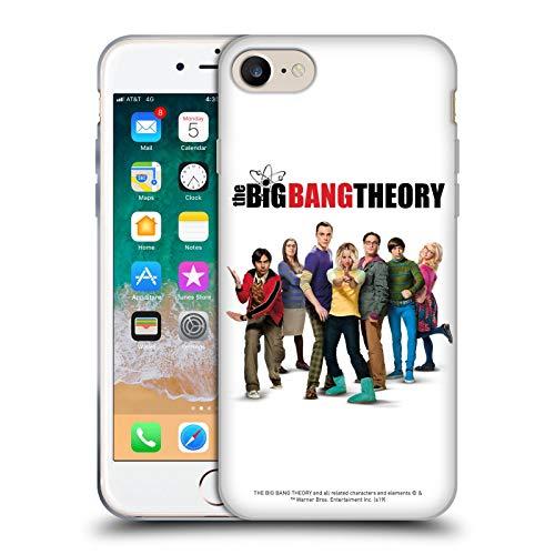 Head Case Designs Offizielle The Big Bang Theory Staffel 10 Schluessel Kunst Soft Gel Handyhülle Hülle Huelle kompatibel mit Apple iPhone 7 / iPhone 8 / iPhone SE 2020
