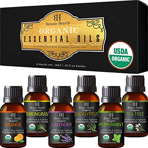 Aromatherapy Essential Oils Set from Botanic Hearth
