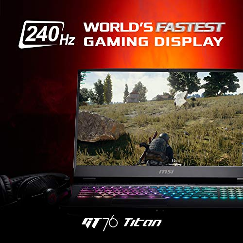 Comparison of MSI GT76 9SG 010UK Titan 240 Hz (9S7-17H212-010) vs Dell XPS 15 (Y1RHN)