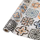 Fliesenaufkleber Mosaikfliese Klebefolie Fliesen für Küche und Bad – Deko Fliesenfolie Kacheldekor(61 x 500cm, PVC,Typ-B)