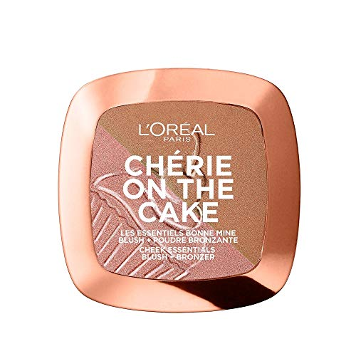 L'Oréal Paris Chérie on the Cake Blush & Bronzer 01 Cherry Fever, 1er Pack (1 x 9 g)