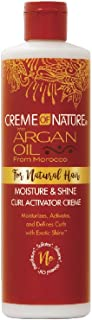 Creme of Nature with Argan Moisture & Shine Curl Activator Creme, 12 Ounce