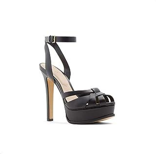 Aldo Heels Sandal for Women, Size 9 US, Black