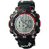 [カクタス] キッズ腕時計 デジタル 10気圧防水 CAC-104-M01 ボーイズ 正規輸入品 ブラック