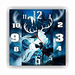 Harry Potter 11.8'' Handmade Wall Clock - Get Unique décor for Home or Office – Best Gift Ideas for Kids, Friends, Parents and Your Soul Mates