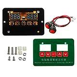 Guolongbaihuo Electrónica Kit 12V / 24V / 220V ZFX-W1015 Digital Display multifunción Temporizador de Ciclo Intermitente, fácil de Llevar y Utilizar (Type : 24V)