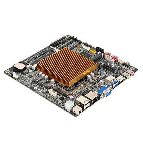 Camisin ITX Motherboard J1900 Prozessor 2,0 GHz DDR3 8 GB / 1600 MHz DüNnes Mainboard Quad Kern Motherboard für Den Desktop