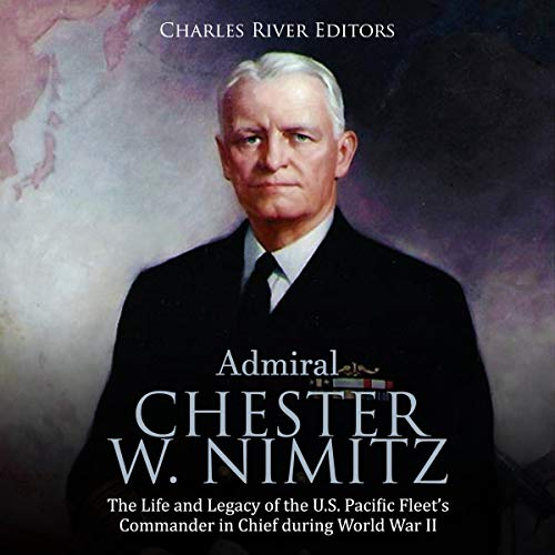 Admiral Chester W. Nimitz  By  cover art