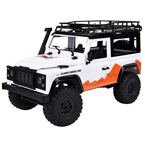 RC auto, 2.4G 1/12 4WD Crawler op afstand bestuurbare Auto Fit voor Land Rover (wit)