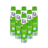 Fa - Desodorante Spray Limones del Caribe - 200ml (pack de 6) Total: 1200ml