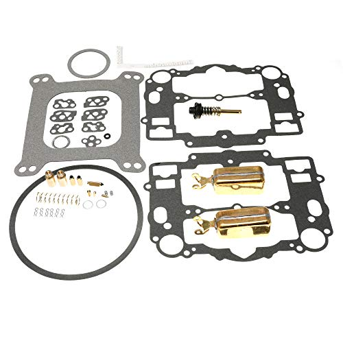 Unepart Carburetor Rebuild Kit for Edelbrock 1405 1406 1407 1408 1409 1410 1411 (With Bowl Cover Gasket)