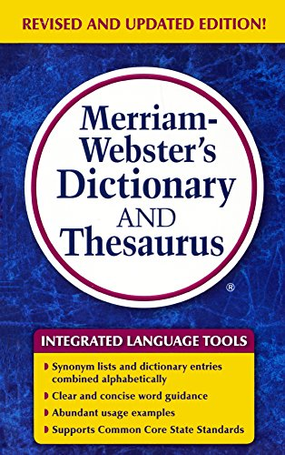 Download Merriam-Webster's Dictionary and Thesaurus 0606366970