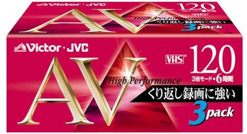 VHSビデオテープ(スタンダード) 3T-120AVK