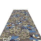 YETC Tapis de sol antidérapant pour grande porte, style vintage chic à motifs, pour salon, chambre, couloir, cuisine (taille : 80 x 450 cm)