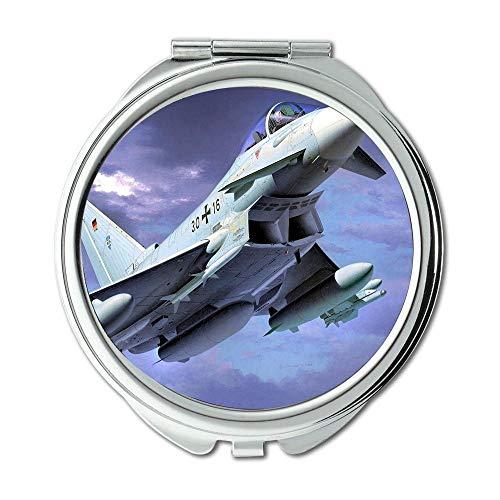 Yanteng Kampfflugzeuge, Spiegel, Reisespiegel, Feuerwehrhut, Taschenspiegel, tragbarer Spiegel