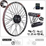 BAFANG Front Wheel 500W 48V Brushless Hub Motor Electric Bike Conversion Kit