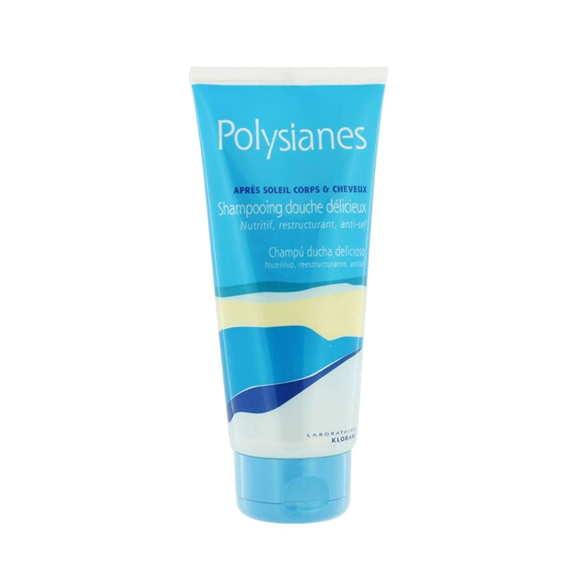 余韻レーニン主義ジャンピングジャックPolysianes After Sun Shampoo With Monoi 200ml [並行輸入品]