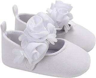 DEBAIJIA Chaussures BéBés Filles Princess, Chassures Chaussons Enfants Filles Premier Pas Mode pour Tout-Petit Nouveau-né ...
