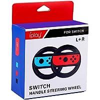Nintendo Switch,Mario kart 8 Deluxe Volante Gamepad Volante Juego Volante Mount Pack de 2