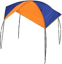Alomejor Parasol portátil para barco, 2 personas, toldo de barco de pesca con rayos UV, parasol para camping, pesca