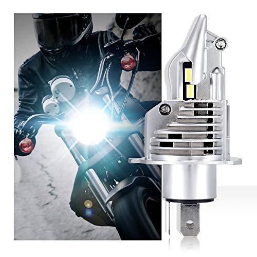 NOVSIGHT Lampadina LED per Moto,Faro Anteriore per Moto, 35W 6000LM 6500K Bianco Lampade Sostitutive per Lampadine Alogene/Xenon Garanzia 2 anni