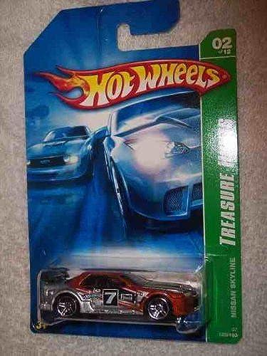 grandes ofertas 2007 Treasure Hunt  2 Nissan Skyline Skyline Skyline  2007-122 Condition Mattel Hot Wheels by Hot Wheels  están haciendo actividades de descuento