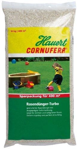 Hauert HBG Dünger 800610 Cornufera Rasendünger-Turbo 10 kg für 400 m²