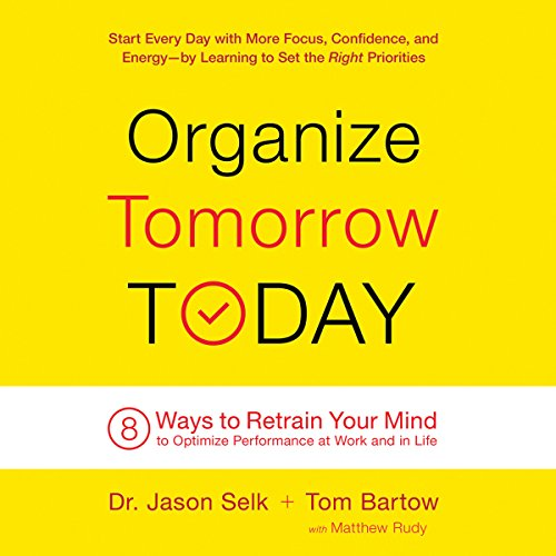Organize Tomorrow Today audiobook cover art
