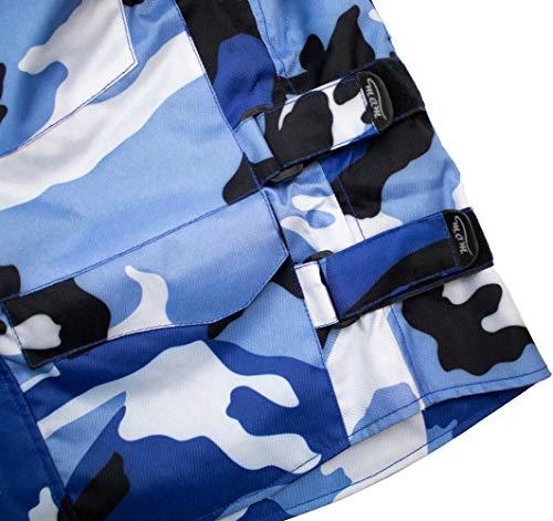 Herren Motorrad Textil Jacke Motorradjacke Winddicht Wasserdicht Belüftet Camo Camouflage (4XL) - 8