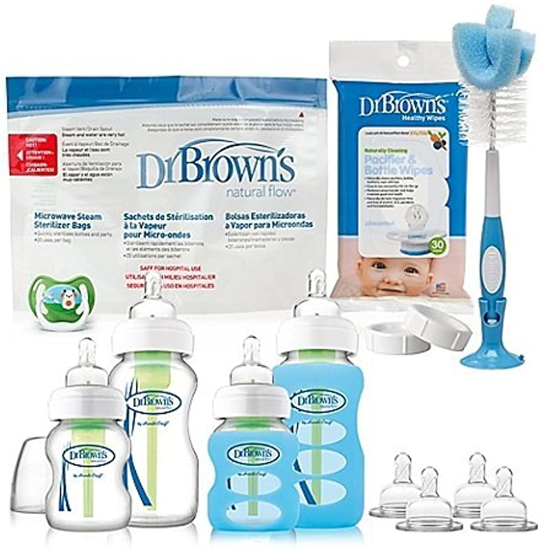 Dr Brown S Options Glass Bottle Starter Set
